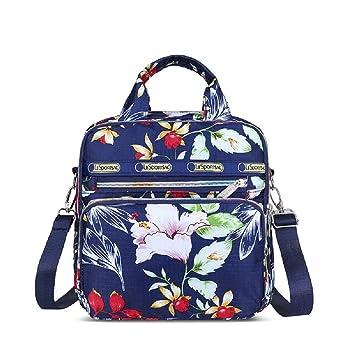 Urmiss Mens Multifunctional Canvas Messenger Handbag Outdoor Sports Travel Shoulder Crossbody Side Bag
