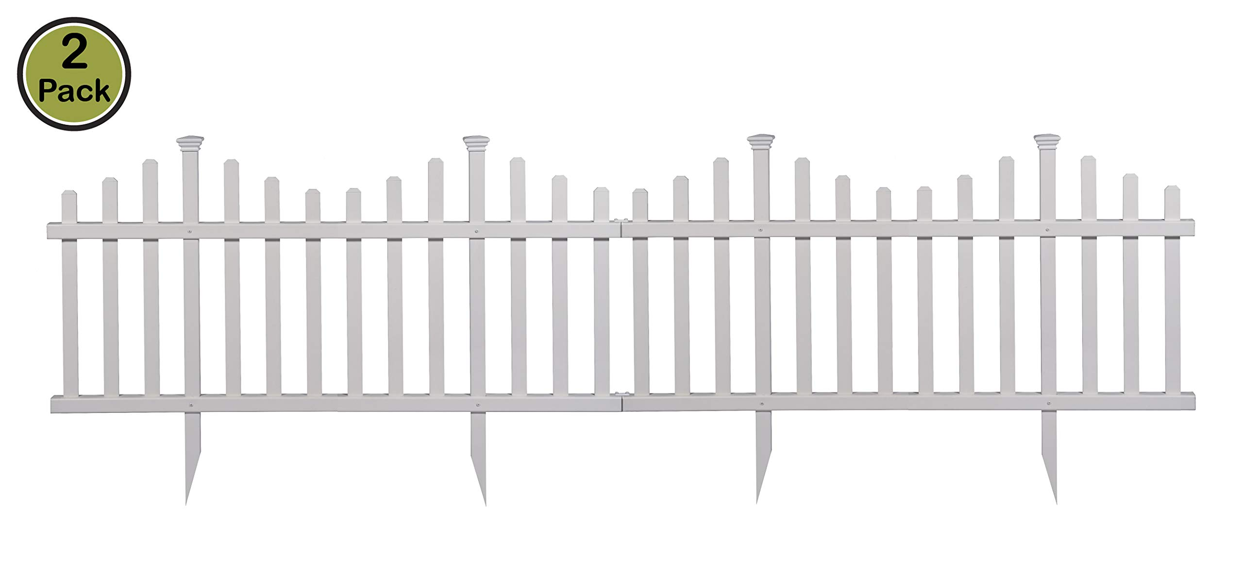 Zippity Outdoor Products ZP19001 Picket Fence, 30'' x 56'', White