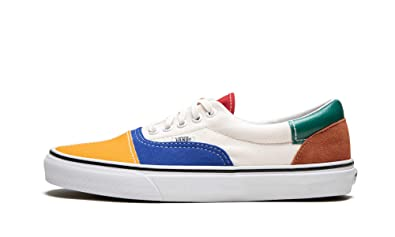 Amazon.com | Vans Era ((Patchwork) Multi/True White, 11.5) | Fashion ...