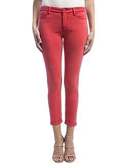 f2c3f0039 Liverpool Jeans Company Women's Cami Rolled-Cuff Crop in Vintage Super  Comfort Stretch Denim