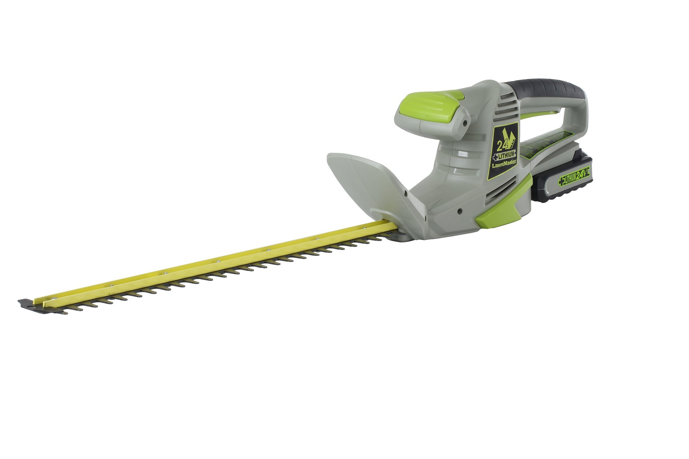 LawnMaster CLHT2422 24-volt Li-On Cordless Hedge Trimmer, 22-Inch