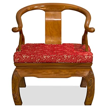 Hand Crafted Rosewood Chow Leg Monk Chair - Natural  sc 1 st  Amazon.com & Hand Crafted Rosewood Chow Leg Monk Chair - Natural
