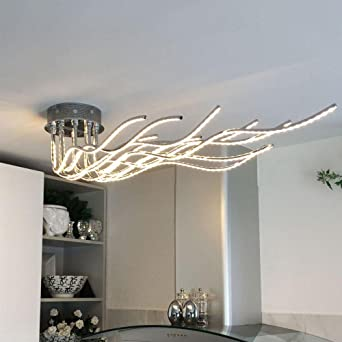 LED Living Room Chandelier Bedroom Branch Ceiling Lights Tree Art Light