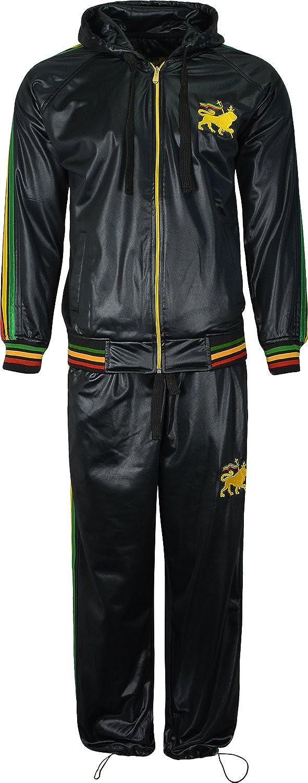Chándal para hombre incluye chaqueta manga larga con león de Judá ...