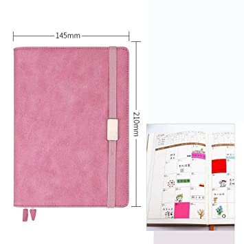 YWHY Cuaderno Agenda Diaria Del Planificador Anual Del ...