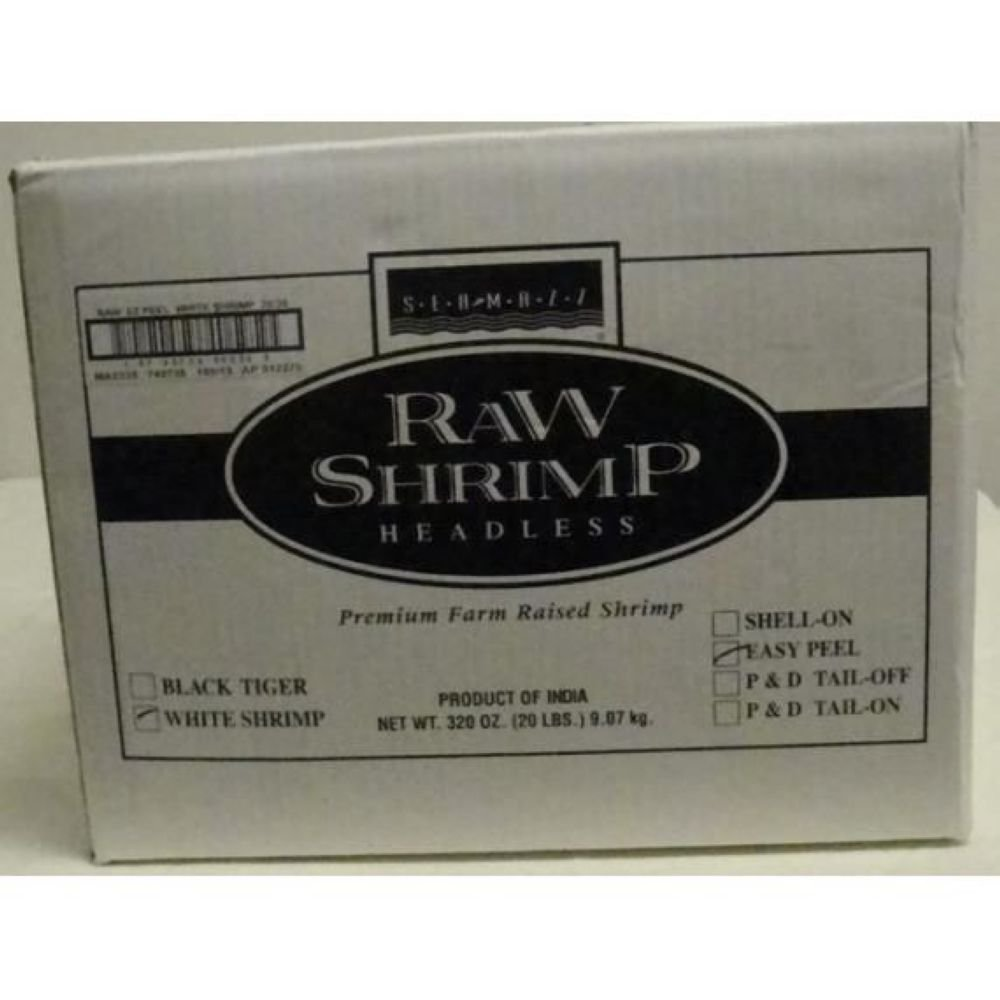 Seamazz Easy Peel White Shrimp, 26/30 Count -- 10 per case.