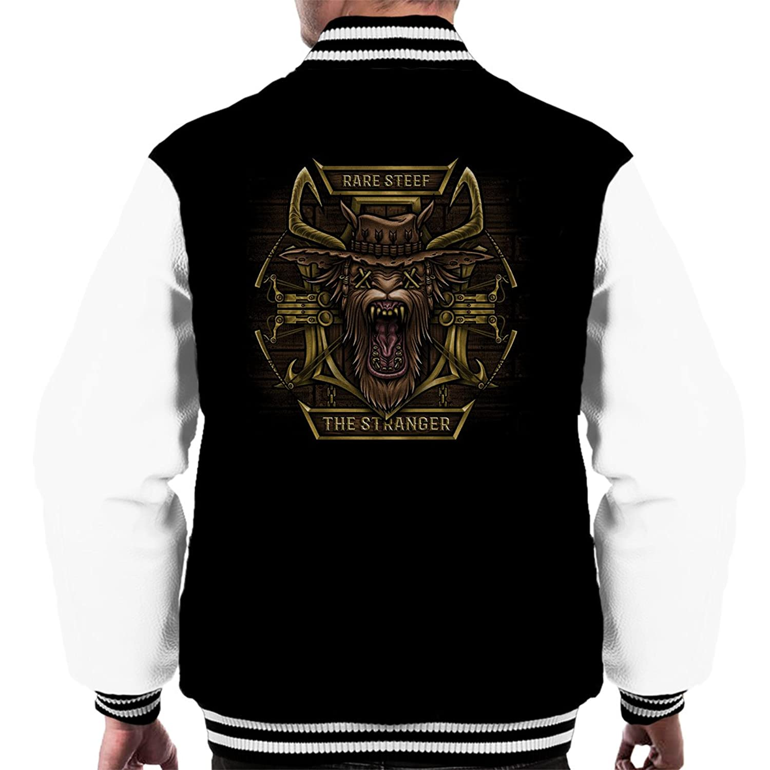 Wanted Dead Or Alive Oddworld Strangers Wrath Men's Varsity Jacket