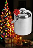 GSCW Small Ice Bucket with Tongs- Best Double Wall