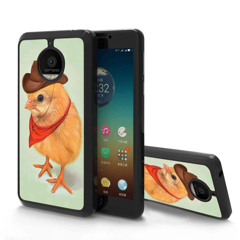Amazon.com: Alarm Clock Soft TPU Case for Motorola Moto E4 ...