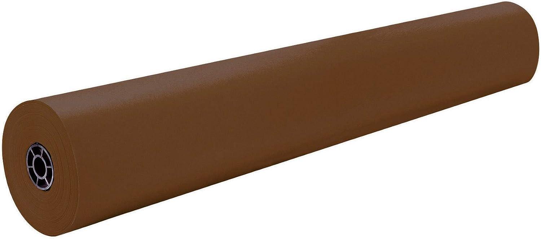 40 lb Rainbow Duo-Finish Kraft Paper Roll 36 Inches x 1000 Feet Orange