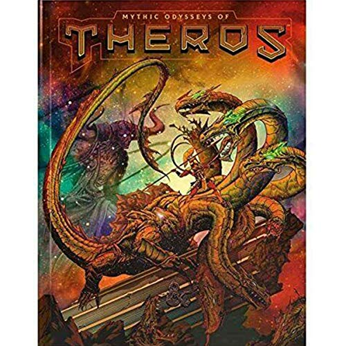 Dungeons & Dragons: Mythic Odysseys of Theros (Alternate Cover)