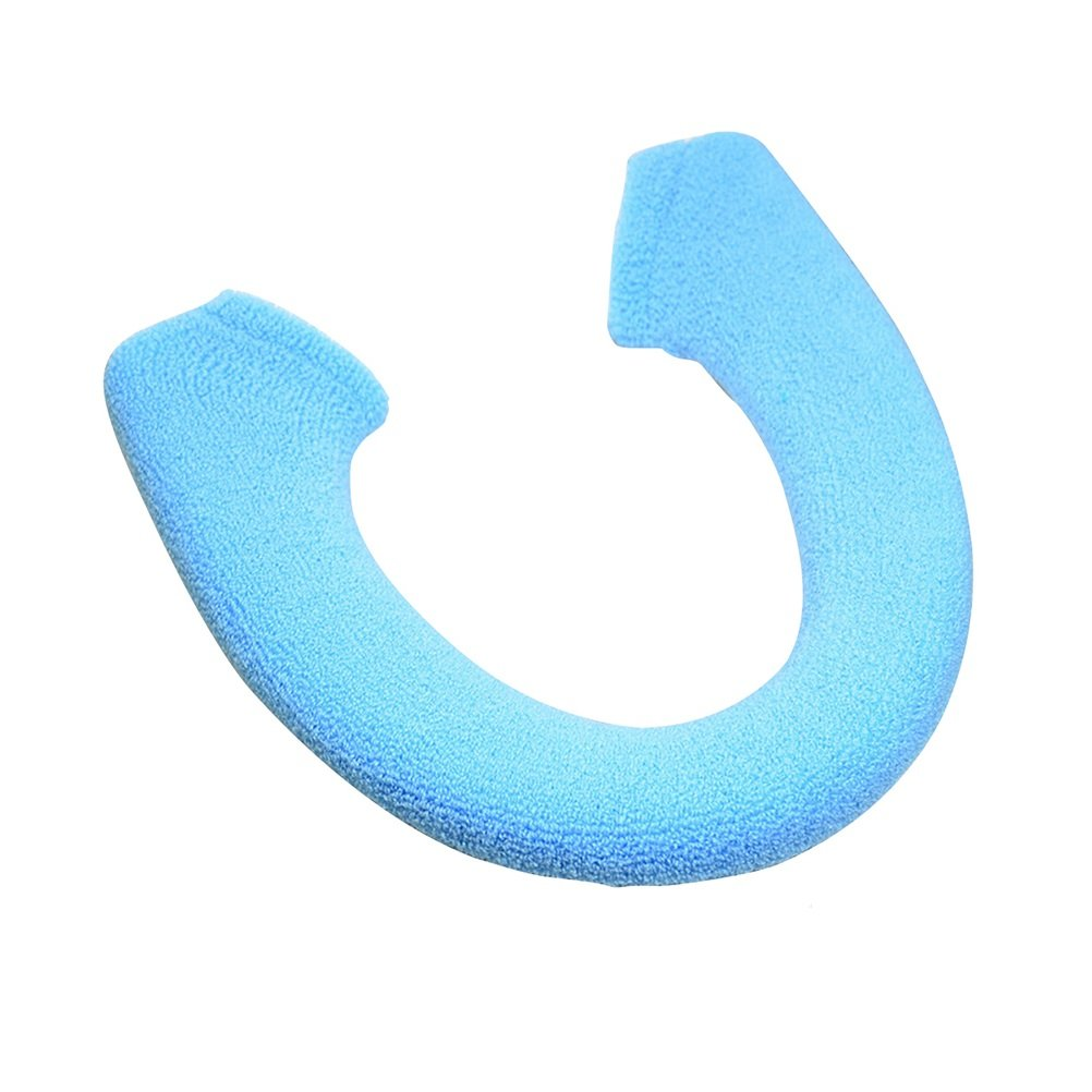 BESTOMZ Coprisedile WC caldo morbido sedile del cuscino WC (Blu)