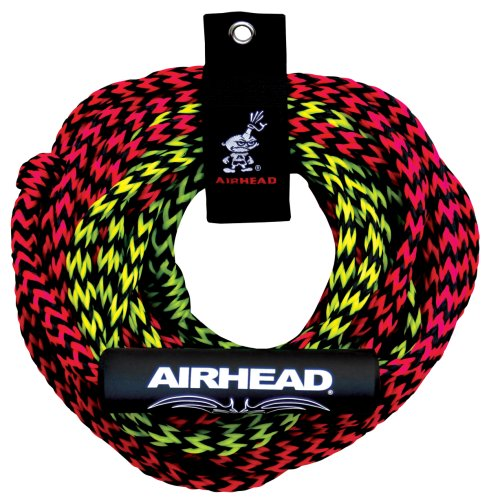 AIRHEAD 2 Rider Tube Rope, 2 Sect, Float ()