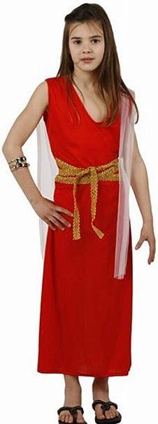 Desconocido Disfraz de romana para niña: Amazon.es: Juguetes y juegos