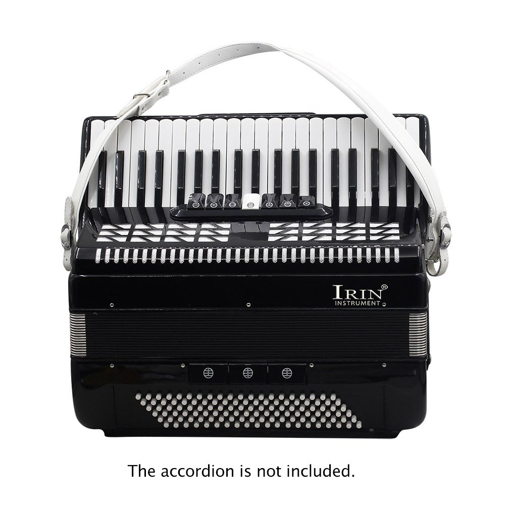 Kalaok One Pair Adjustable Synthetic Leather Accordion Shoulder Straps for 16-120 Bass Accordions by Kalaok (Image #3)