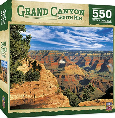 (MasterPieces Grand Canyon South Rim 550-Piece Jigsaw Puzzle)