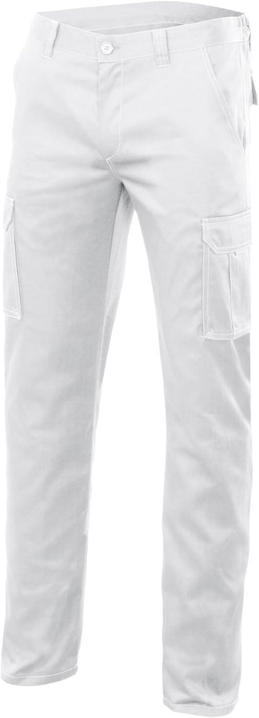 colore bianco Pantaloni multitasche Velilla 103002S Taglie 34