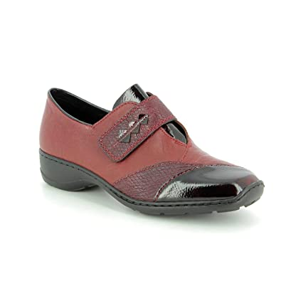 91617016f49a RIEKER - 58397 - TROTTEUR - ROUGE: Amazon.fr: Chaussures et Sacs
