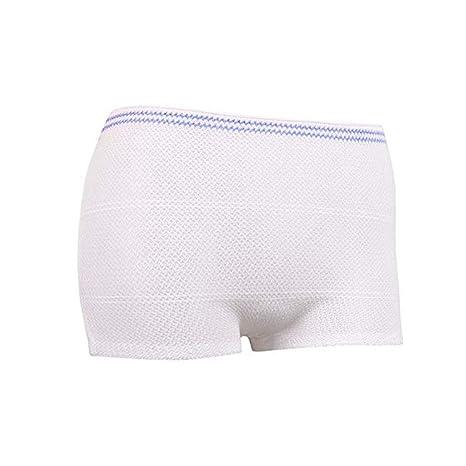 Cuidador Unisex protectora de maternidad o ropa interior bragas desechables Fix Slip Pack de 5