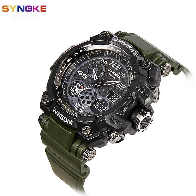 Mens Sport Watch Military Watch Smartwatch Quartz Digital 30 m ...