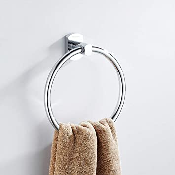 AYUE® Anillo de Toalla, Soporte de Toalla, Acero Inoxidable Accesorios de Baño para