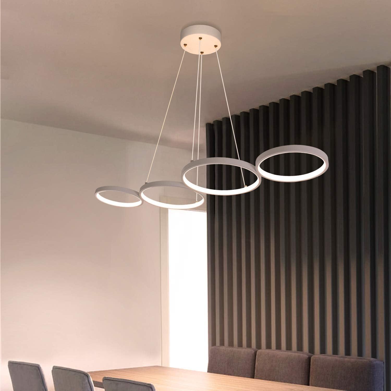 12W Deko Nachtlampe mit 2.9M Kabel und EU-Stecker f/ür Schlafzimmer Wohnzimmer Arbeitszimmer B/üro GBLY LED Tischlampe Dimmbar Modern Nachttischlampe Schwarz Schreibtischlampe in Ringform aus Aluminium