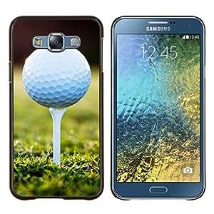 - Golf Ball Sport Tiger - - Cubierta del caso de impacto con el patr??n Art Designs FOR Samsung Galaxy E7 E7000 Queen Pattern