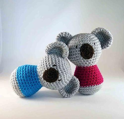 Amigurumi Koala Crochet Pattern | Supergurumi | 480x500