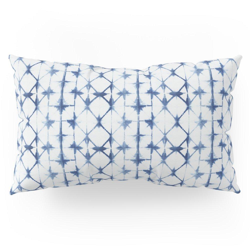 Society6 Shibori Thirteen Pillow Sham King (20'' x 36'') Set of 2