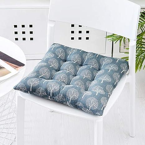 Q&F Restaurante al Aire Libre Cojines para sillas Cómodos ...