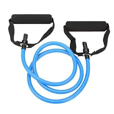 Stretch Bands Training Multifunction Elastic Rope Yoga Strap with Pilates Exercise Bands Resistance Tube Fitness Workout Bands Training Home Gyms Physical Therapy (Blue) : Sports & Outdoors