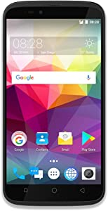 "Coolpad Splatter unlocked smartphone with hands-free Amazon Alexa - 5.5"" Screen - 2GB RAM/16GB ROM -Android 7.0- Black"