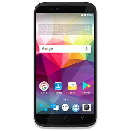 Coolpad Splatter unlocked smartphone with hands-free Amazon Alexa - 5 5