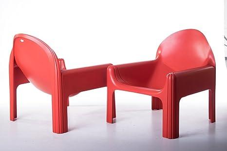 DN Par de sillones Modelo 4794 Designer Gae Aulenti ...