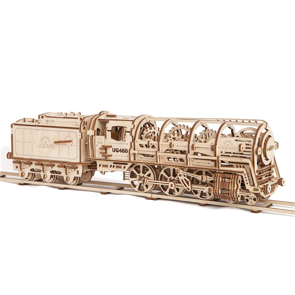 UGears - 460 [並行輸入品] environmentally STEAM LOCOMOTIVE WITH TENDER 3D puzzle unique is a unique product of environmentally friendly wood [並行輸入品] B07518K9G1, セレブbyエンデバー:59711fc6 --- m2cweb.com