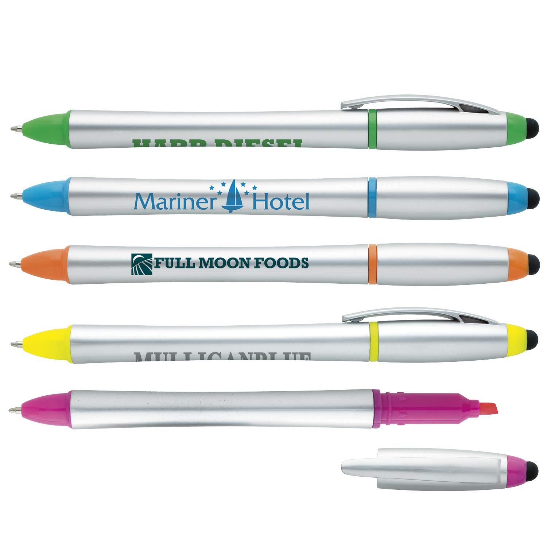 Good Value Stylus Highlighter-Pen Combo Silver 500 Pack