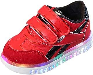MEHOUSE Chaussures Bébé Enfants Bébé Mode Sneakers Unique Coloré LED Allumer Sneakers pour Enfants Lumineux Star Occasionnel Chaussures Chaussures de Sport Baskets Bébé garçon