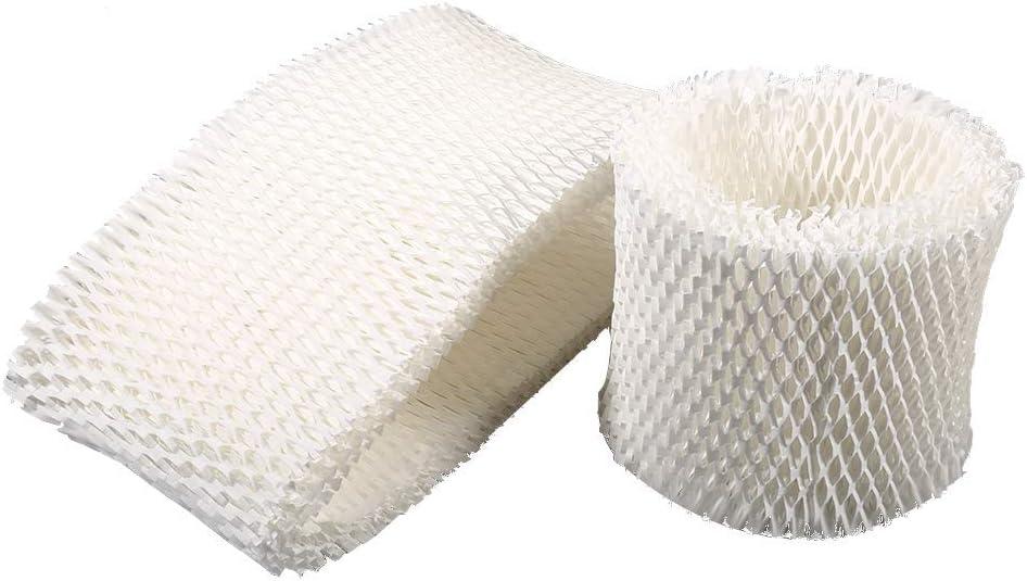 Filtro de algod/ón Varillas de Repuesto CUHAWUDBA 30 Piezas de Varillas de humidificador de Coche mechas de Repuesto de Filtro para Mecha de difusor de Aroma ultras/ónico port/átil