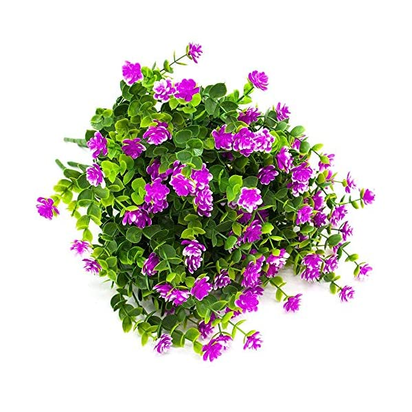 MARJON-FlowersArtificial-Flowers-Fake-Outdoor-UV-Resistant-Plants-Faux-Plastic-Greenery-Shrubs-Indoor-Outside-Hanging-Planter-Home-Kitchen-Office-Wedding-Garden-Decor-Red
