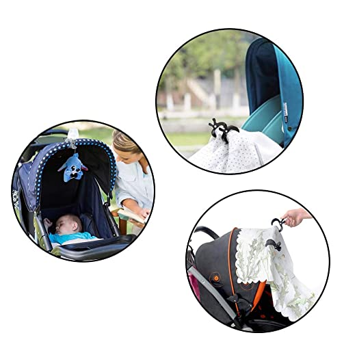 Amazon.com: Yisscen - Soporte para cochecito de bebé con dos ...