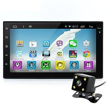 """junsun 7 """"Universale 2 DIN Android 6.0 Radio coche reproductor de DVD Radio estéreo"""