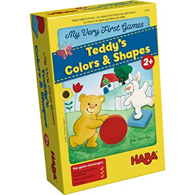 HABA My Very First Games - Teddy's Colors and Shapes (Made in Germany): Toys & Games