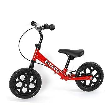 """Hansemay Rueda de Aprendizaje con Freno de 12""""para niños en Bicicleta roja ..."""