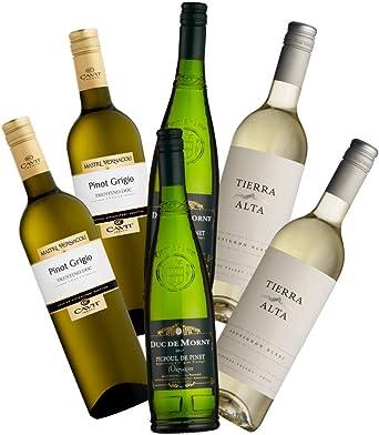 Sauvignon Rueda, Marqués de Riscal 75cl. (caja de 6), España, Sauvignon Blanc, vino blanco: Amazon.es: Alimentación y bebidas