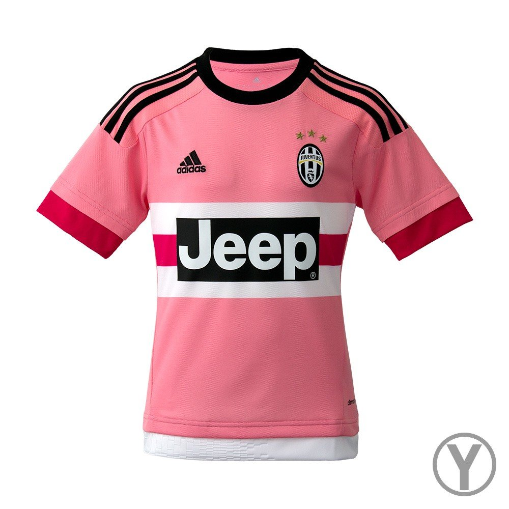 b3fc4286681b Adidas Juventus Away Youth Jersey-PINK 60%OFF - loyaldental.com.sg