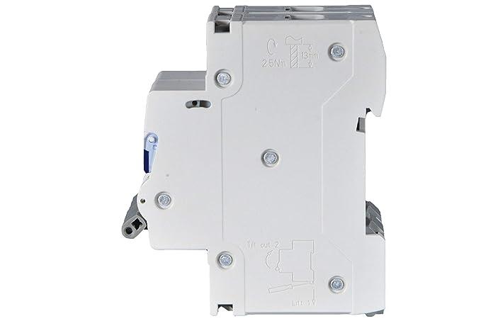 POPP/® Interruptor Autom/ático Magnetot/érmico industrial CURVA C 1P 2P 3P 1P, 20A 6A 10A 16A 20A 25A 32A 40A 50A 63A /…