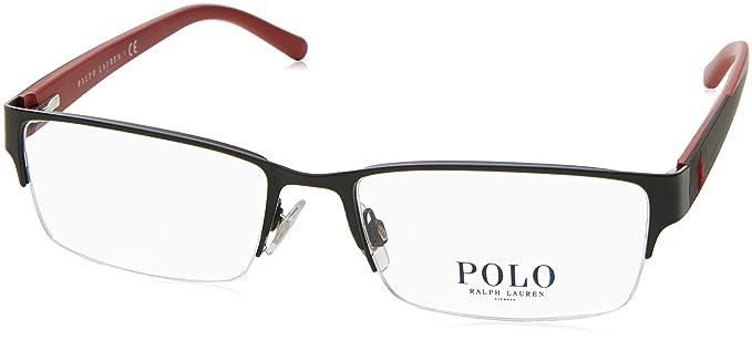 Ralph Lauren POLO 0PH1152 Monturas de Gafas, Matte Black, 54 ...