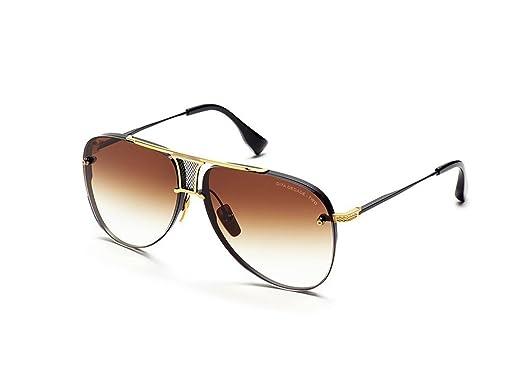 aeead95bf4fd DITA Luxury Eyewear Sunglasses Decade-Two DRX-2082-B-BLK-GLD-62 Gold w   Black  Amazon.co.uk  Clothing