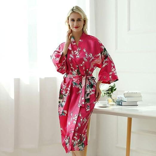 NO BRAND Señora Atractiva De Los Trajes del Vestido del Kimono ...