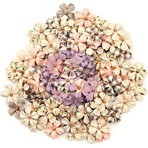 (Prima Marketing Spring Farmhouse Mulberry Paper Flowers 120p-beautiful Life)